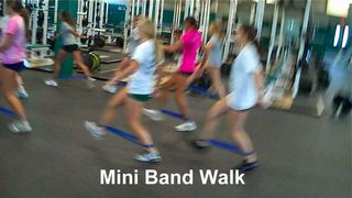 Mini Band Walk